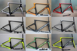 Wholesale Cipollini Bikes - Cipollini NK1K Carbon Frame Road Bike Frameset full carbon fiber T1100 matte glossy finish color can choose frame fit 700c carbon wheels