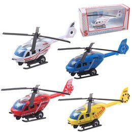 Wholesale Military Aviation - IN STOCK Toys Alloy Pull Back Helicopter Toys Aviation Military Model Toys for Children Kids wholesale