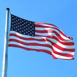 87 148cm Polyester Usa American National Flag Us United States Stars Stripes Country Flags