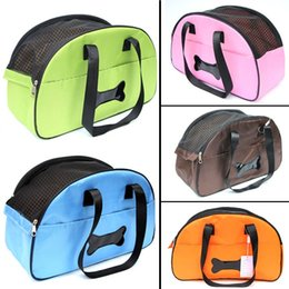 Wholesale Mesh Traveling Bags - C02 Pet dog carrier bag Mesh Breathable Dog Cats carry bag Portable Traveling Shoulder Bags Pet Accessories Carrier