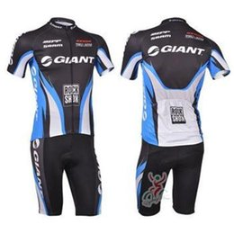 Wholesale Giant Bib Shorts Jersey - new style NEW ITEMS GIANT Team Cycling Jersey Cycling Wear Cycling Clothing+short bib suit-GIANT-3B cycling jersey set