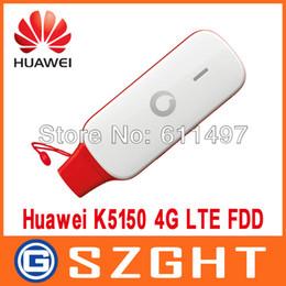 Wholesale Lte Usb Modem - Wholesale- Original Unlock LTE FDD 150Mbps HUAWEI K5150 4G LTE USB Stick And 4G Modem, PK E392 E398 E3276 K5005