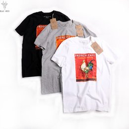 Wholesale Large Cock - Fashion Summer Mens COCK Print T-Shirts Crew Neck Short-sleeve Classic Camo Printed Supply Co Male Tops Tees Large Sieze S-4XL