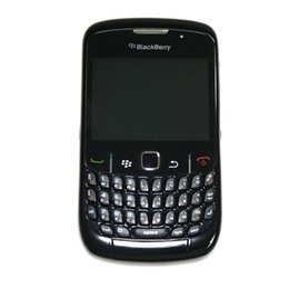 Wholesale Unlocked Blackberry Phones - Original Refurbished Blackberry 8520 GSM Unlocked Mobile Phone With 2.46Inch Screen Qwerty keyboard 2.0MP Camera WIFI Free DHL