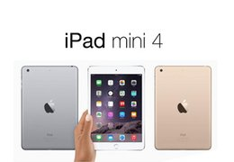Wholesale A8 Wifi - Wholesale iPad mini 4 Refurbished 16GB 64GB Wifi Original Apple IOS Tablet A8 7.9 inch with Touch ID Tablet PC