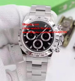 Wholesale Mens Classic Watches - 6 Style Luxury High Quality Watch Classic Series 40mm Cosmograph 116506 116520 116509 116500 116500LN Mechanical Automatic Mens Watches