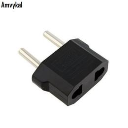 Wholesale Travel Power Converter Adapter - USA US To EU Plug Adapter Travel Charger Adaptador Converter Universal AC Power Electrical Plug Socket