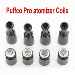 Wholesale portable head - Skillet Vaporizer coils Puffco pro Portable Upgraded Wax Dry herb atomizer 510 thread large Ceramic chamber replaceable coil head