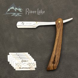 Máquina de afeitar manual Professional Straight Edge Acero inoxidable Sharp Barber Razor plegable Cuchillo de afeitar Shave Barba Cutter SIN cuchillas desde fabricantes