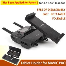 Wholesale Extends Plastics - Sunnylife Remote Controller Smartphone Tablet Holder Bracket Foldable Extended Holder Multifunction for MAVIC PRO Free Shipping