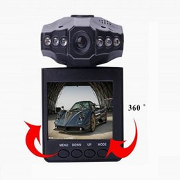 "Wholesale Ir Microphones - H198 Car DVR Video Registrar 120 Degree View Angle 2.5"" LCD 6 IR LED Night Vision Car Camera 100pcs lot"