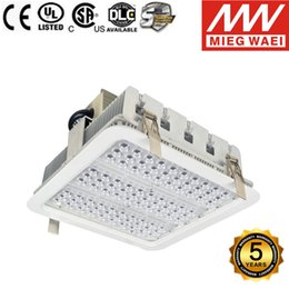 Wholesale Wholesale High Bay Lighting - Explosion proof canopy lights finned radiator 100W 150W 180W LED high bay light for GAS Station lights warehouse lamp 5 years warranty