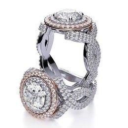 Wholesale Diamond Halo - 7.20 Ct Round Cut Infinity Style Two Halo Diamond Engagement Ring G,VVS1 GIA