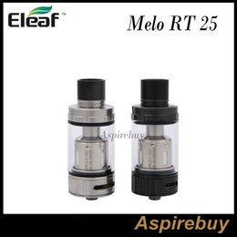 Wholesale Rt Free - Eleaf Melo RT 25 Tank 4.5ML with RT ERL Coil Head 0.15Ohm Innovative Retractable Top Filling Optimal Airflow 100% Original DHL Free Shipping