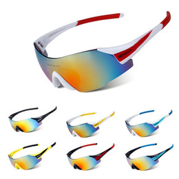 Wholesale Clear Windshield - Cycling Sunglasses SP0889 UV400 Outdoor Eyewear Frameless Glasses Sport MTB Bicycle Motorcy Anti-sand windshield Glasses 9Colors