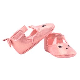 Wholesale Girl Rabbit Canvas Shoes - Wholesale- Infant Baby Girls Casual Prewalker Newborn Rabbit Printed Shoes 0-1 Years
