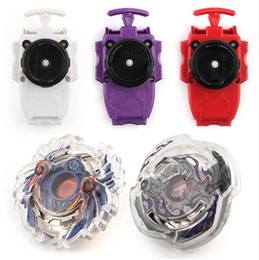 Wholesale Beyblade Fusion - 8 Stlyes New Spinning Top Beyblade BURST B-23 With Launcher And Original Box Metal Plastic Fusion 4D Gift Toys For Children