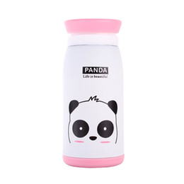 Wholesale Ceramic Mug Stainless Steel - New Arrival Cartoon Thermos Cup Bottle Stainless Steel Thermocup Vacuum Thermal Mug 260ml 350ml Funny Gift