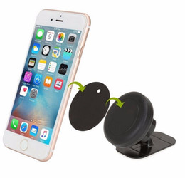 Wholesale Universal Car Tablet Mount - Universal Stick On Dashboard Magnetic Car Mount Holder for Cell Phones Mini Tablets with Fast Swift-Snap Technology