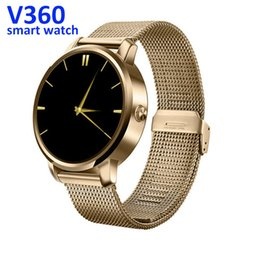 Wholesale Female Voice - V360 smart watch bluetooth watch for iphone&android compatible bluetoth siri voice control pedometer ip55 sports health smart watch