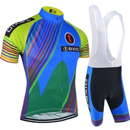 Wholesale Sportswear Men Plus Size - BXIO Brand Men Cycling Jersey Short Sleeve Fulle Zipper Bicycle Clothes Sets New Sportswear Cycling Clothing Ropa Ciclismo Hombre BX-110