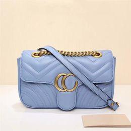 Wholesale Hot Single Ladies - 2017 new latest female lady woman fashion G LOVE design letter chain crossbody handbag real leather flap bag hot sale SHOULDER bag