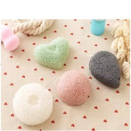 Wholesale Pure Body Cleanse - Konjac Sponge Puff Herbal Facial Sponges Pure Natural Konjac Vegetable Fiber Making Cleansing Tools For Face And Body 200pcs a95-a102