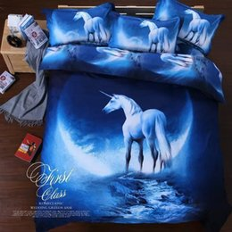 Wholesale Modern Textile Design - 3D Home Textiles Active Printed Fantasy Starry Sky design 100% cotton fashion comfortable quilt cover pillowcases bedding sets
