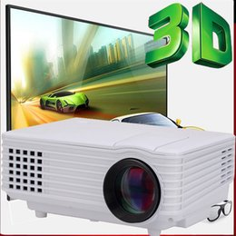 Wholesale Image Led Tv - Wholesale-HD 1080P Mini LCD Image System Multimedia LED Projector Home Theater Cinema Digital Projectors TV ,Game proyector,video projetor