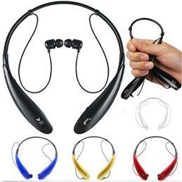 fone de ouvido bluetooth pescoço Desconto HBS-800 HBS800 Pescoço Pendurado Esportes Sem Fio Bluetooth 4.1 Estéreo Telefone Celular Fone De Ouvido Fones De Ouvido Acessórios 3010