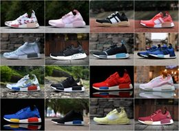 Wholesale Nice Cheap Shoes - Wholesale Cheap NMD RUNNER R1 PK Nice Kicks Primeknit-Ultra-Boost Turtle-Dove Spider-Man Sneaker Men's & Women's Lover's Running Sport Shoes