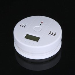 Wholesale Gas Detector For Alarm - Carbon Monoxide Detector & CO Gas Sensor Alarm Accurate Indepedent LCD Digital Display Voice Prompt For Home Security