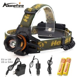 Wholesale Cycle Headlamp - AloneFire HP82 4Modes LED Headlamp 90 Degrees Adjustable Head Lamp Waterproof Rechargeable Cycling Fishing Headlight
