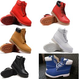Wholesale Lace Up Waterproof Boots Low - Hot Sale Martin Boots Snow Boots Brand Men Genuine Leather Waterproof Outdoor Hiking Shoes Leisure Ankle Boots