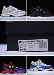 Wholesale Spring Bunnies - Raf Simons x Consortium Ozweego II Bunny Cream with originals box man and woman running shoes size eur 36-44 free shipping wholesale