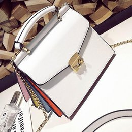 Wholesale Fashion candy color organ bag summer fashion leather handbag all match brand Shoulder Bag women Messenger Bags top handle bags