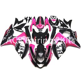 Wholesale Motorcycle Plastic Pink - 3 gift new For Suzuki GSXR1000 GSX-R1000 09 10 11 12 13 14 Year K9 ABS Plastic Motorcycle Fairing Kit Bodywork Black Pink