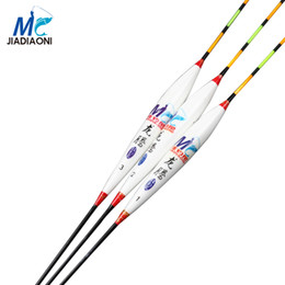 Wholesale Bobber Tail - Wholesale- JIADIAONI 2017 3Pieces lot with box Carp Fishing Float Long Tail Barguzinsky Fir Deep Water Float Fishing Tackle Fishing Bobber