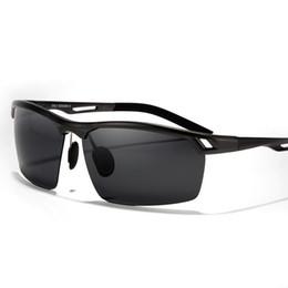 Wholesale magnesium vision - Wholesale- TRIUMPH VISION Polarized Sunglasses Driving Men Aluminum Magnesium Sun Glasses For Men Driver UV400 Lens Eyewear Male 2016