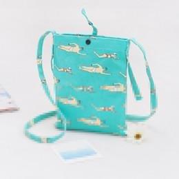 Wholesale Characters Bags 12pcs - 12PCS Cross-body Mobile Phone Shoulder Bag Pouch Case Women's Girl's Bags Canvas Mini Travel Case