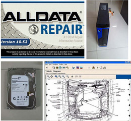 Wholesale Free Computer Software - 2016 Mitchell Alldata 10.53 2 in1 with 2TB Hard Disk Installed Well Plus MINI Desktop Computer Ready To Work Free Shipping