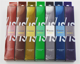 Wholesale Electronic Cigarette Real - Quality Vision Spinner II Real 1600mah electronic cigarette battery variable voltage 3.3v-4.8v ego-c twist battery DHL ship out within 24H