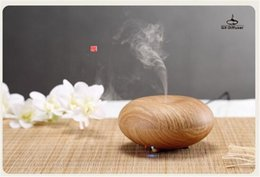 Wholesale Wooden Aroma Diffuser - Oil Diffuser Air Humdifier Aroma Mist Theapy Ultrasonic Purifier Air Humidifier with wooden styple