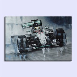 Wholesale Modern Floral Art Paintings - Lewis Hamilton II,Home Decor HD Printed Modern Art Painting on Canvas (Unframed Framed)