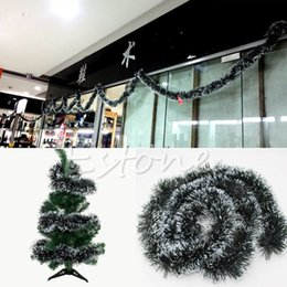 Wholesale Wholesale Xmas Tree Garland - Wholesale- Garland Ribbon String For Christmas Party Xmas Tree Hanging Ornament