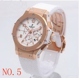 Wholesale Time Zone Wrist Watches - New &#72ublot Lighte Automatic machinery Stainless Watches Stainless Pointer Watch Mens Fashion Wrist Watches