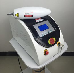 Wholesale Hair Pigments - 2017 Latest Q Switch Nd Yag Laser Tattoo Removal Machine Pigments Removal Scar Acne Removal 1064nm 532nm 1320nm