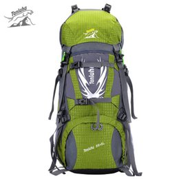 Wholesale 75l Outdoor Bag - Hot Sale 60L professional unisex outdoor climbing backpack Waterproof polyester softback sport backpack Men multifunctional travel bag
