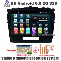 Wholesale Build Suzuki - QZ industrial 9inch HD Android 6.0for Suzuki Vitara 2008-2014 Car dvd Player with GPS 3G 4G WIFI Radio Navi SWC Free map