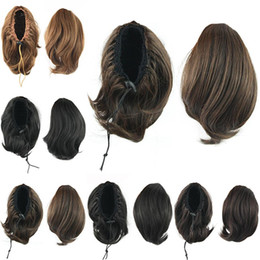 Wholesale Wholesale Ponytail Hairpieces - Wholesale-Bun Hair Ponytails, Synthetic Donut Roller Hairpieces, Hair Extension